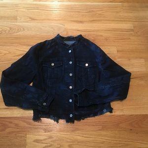 Like new never worn denim jacket